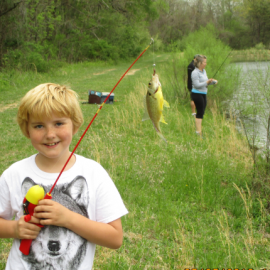 Annual Family Fishing Trip May 11, 2019