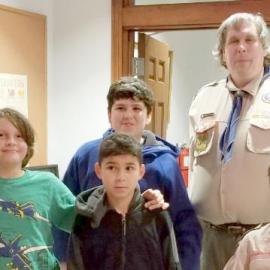 Boy Scout Troop 2018, Sponsored by Shepherd of the Hills