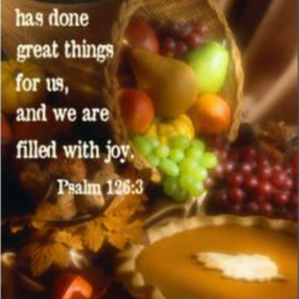 Special Thanksgiving Services November 18, 2018