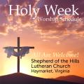 Holy Week Details