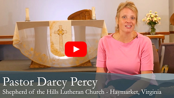 Click to view Pastor Darcy Percy's Welcome Video